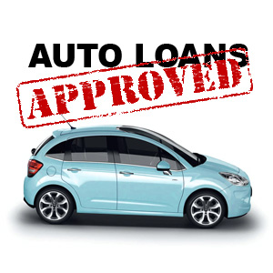 Blue auto loans approved